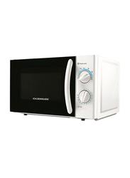 Olsenmark 20L Microwave Oven, 700W, OMMO2260, Black/White