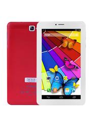 S-Color U701 16GB Red 7-inch Tablet, 2 GB RAM, Dual Sim, 4G LTE
