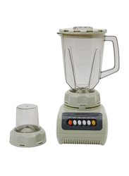 Olympia 2 in 1 Blender with Plastic Jar, 350W, OE-999, White