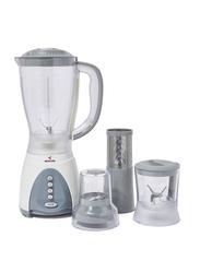 Mebashi 4-In-1 Blender, 350W, ME-BL1001GR, White/Grey/Clear