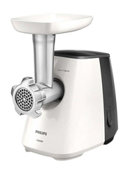 Philips Daily Collection Meat Mincer, 1600W, HR2713, White/Cashmere Grey