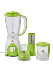 Mebashi 1.5L 4-in-1 Blender, 350W, ME-BL1003G, Green/White