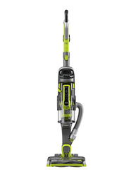 Black+Decker Multipower Allergy 18V 2-in-1 Cordless Stick Vacuum Cleaner with Removable Hand Vacuum, 1L, CUA525BHA-GB, Green/Grey