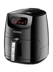 Black+Decker 5L 12-in-1 Multifunction Electric Plastic Air Fryer, 1500W, AF600-B5, Black