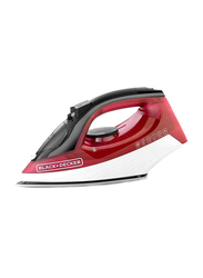 Black+Decker Steam Iron, 1600W, X1550-B5, Red/White