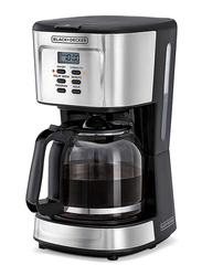 Black+Decker Programmable Coffee Maker, 900W, DCM85-B5, Black