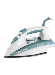 Black+Decker Steam Iron, 1750W, X1600-B5, Green/White