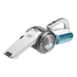 Black and Decker 800W Cyclonic Hand Vacuum Cleaner, PV1020L-B5, White/Blue