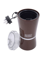 Black+Decker Coffee Bean Grinder, CBM4-B5, Brown