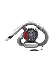 Black+Decker Dustbuster 12V Flexi Auto Handheld Car Vacuum Cleaner, 560ml, PD1200AV-XJ, Red/Grey