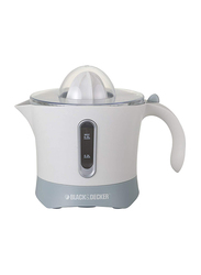 Black+Decker 0.5L Citrus Juicer, 30W, CJ650, White