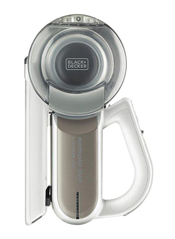 Black and Decker 14.4V MPP Pivot Dustbuster Cordless Hand Vacuum Cleaner, PV1420L-B5, Champagne