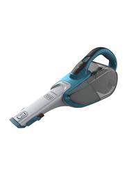 Black and Decker 21.6 Wh Lithium Ion 10.8V Dustbuster Handheld Vacuum Cleaner, DVJ320J-B5, Blue/Grey