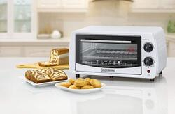 Black+Decker 9L Double Glass Toaster Oven, TRO9DG-B5, White