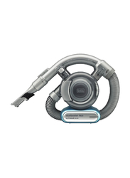 Black+Decker Dustbuster 14.4V Lithium-ion Flexi Cordless Handheld Vacuum Cleaner with Pet Tool, 560ml, PD1420LP-GB, Blue/Grey
