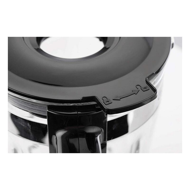 Black+Decker 1.75L Glass Jar Blender, 700W, BX650G-B5, Black/Silver