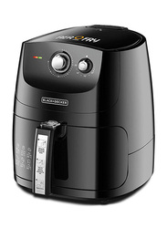 Black+Decker 5L 9-in-1 Multifunction Electric Plastic Air Fryer, 1500W, AF550-B5, Black