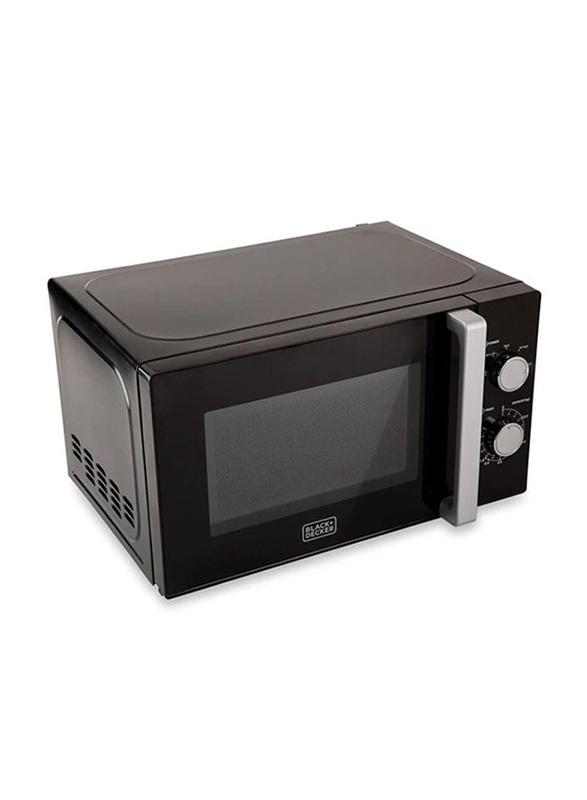 Black+Decker 20L Microwave Oven, 700W, MZ2010P-B5, Black