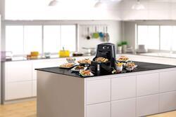 Black+Decker 5L 9-in-1 Multifunction Electric Plastic Air Fryer, 1500W, AF550-B5, Black