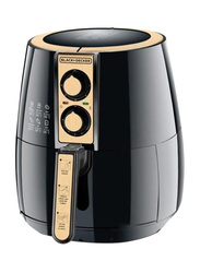 Black+Decker 4L Aero Fry Air Fryer, 1500W, AF300-B5, Black