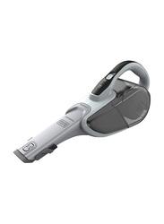 Black and Decker 7.2V MPP Wet and Dry Dustbuster Cordless Hand Vacuum Cleaner, DVJ215J-B5, Grey