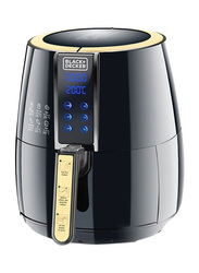 Black+Decker 4L Aero Fry Air Fryer, 1500W, AF400-B5, Black