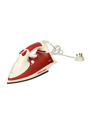 Black+Decker Steam Iron, 1400W, X750R-B5, Red/White