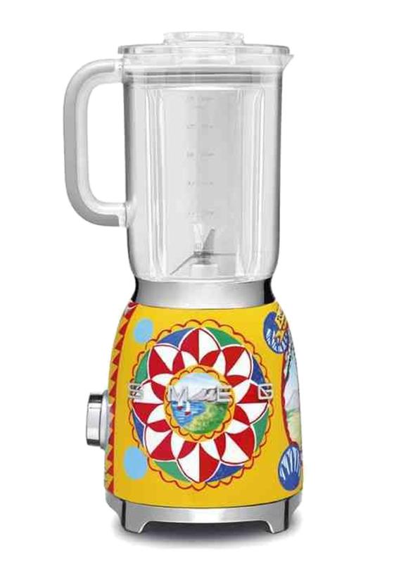 Smeg Blender Dolce & Gabbana, 800W, BLF01DGUK, Yellow