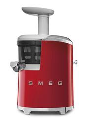 Smeg 50's Retro Style Aesthetic Slow Juicer, 150W, Red