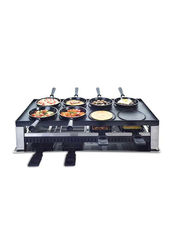 Solis 5 In 1 Table Grill, Type 791, 200W, 977.49, Black