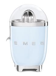 Smeg 50's Retro Style Aesthetic Citrus Juicer, 70W, Pastel Blue