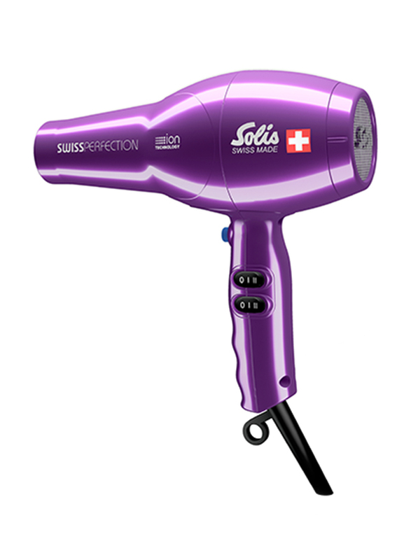 Solis Swiss Perfection Hair Dryer, Type 440, Violet