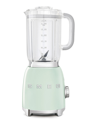 Smeg 50's Retro Style Aesthetic Blender, 800W, Pastel Green