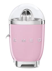 Smeg 50's Retro Style Aesthetic Citrus Juicer, 70W, Pink