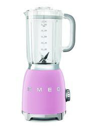 Smeg 50's Retro Style Aesthetic Blender, 800W, Pink