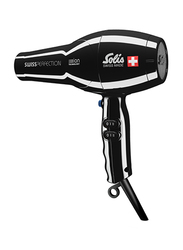 Solis Swiss Perfection Hair Dryer, Type 440, Black
