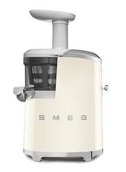 Smeg 50's Retro Style Aesthetic Slow Juicer, 150W, Cream