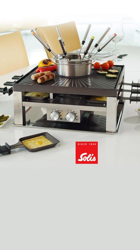Solis Combi-Grill 3 In 1, Type 796, 1200W-800W, 977.19, Black