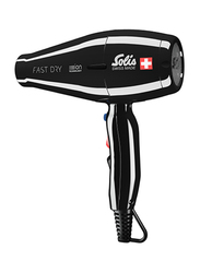 Solis Fast Dry Hair Dryer, Type 381, Black