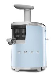 Smeg 50's Retro Style Aesthetic Slow Juicer, 150W, Pastel Blue