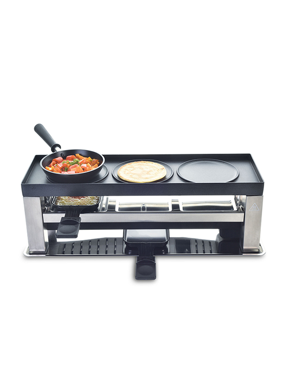 Solis 4 In 1 Table Grill, Type 790, 650W, 977.51, Black