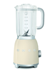 Smeg 50's Retro Style Aesthetic Blender, 800W, Cream