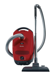 Miele Classic C1 PowerLine Cylinder Vacuum Cleaner, Mango Red