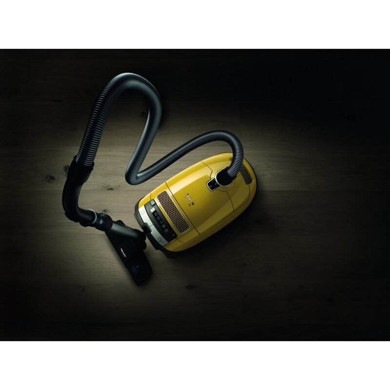 Miele Complete C3 Allergy PowerLine Cylinder Vacuum Cleaner, SGFF331, Yellow
