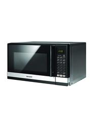 Sharp 20L Solo Microwave Oven, 700W, R-20GHM-SL3, Black