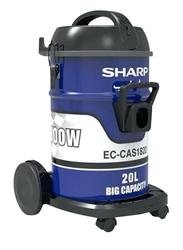 Sharp 1800W Drum Vacuum Cleaner, 18L, EC-CA1820-Z, Blue