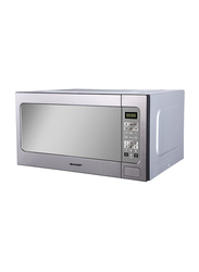 Sharp 62L Microwave Oven, 1200W, R-562CT, White/Silver