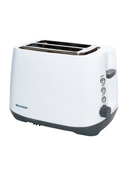 Sharp 2 Slice Toasters, 850W, KZ-T11-W3, White