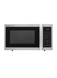 Sharp Corousel 34L Microwave Oven, 1000W, R-34CT-ST, Silver