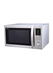 Sharp 43L Microwave Oven, 1100W, R-45BT-ST, Silver